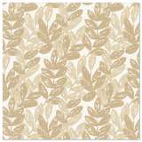 5 x  50 Servietten ROYAL Collection 1/4-Falz 40 cm x 40 cm sand Nature