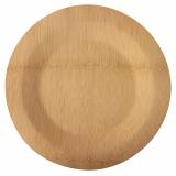 25 x  10 Teller, Bambus pure ungeteilt Ø 28 cm · 1,5 cm