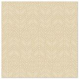 5 x  50 Servietten ROYAL Collection 1/4-Falz 40 cm x 40 cm sand Leaves