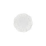15 x  100 Tortenspitzen Fine Line rund Ø 15 cm weiss Firenze Premium-Qualität