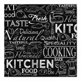 10 x  20 Servietten, 3-lagig 1/4-Falz 33 cm x 33 cm Kitchen