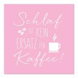10 x  20 Servietten, 3-lagig 1/4-Falz 33 cm x 33 cm Kaffee-Ersatz