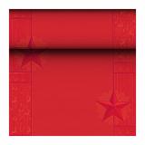 8 x  Tischläufer, Tissue ROYAL Collection 24 m x 40 cm rot Rising Star