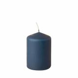 8 x  Stumpenkerze Ø 69 mm · 100 mm dunkelblau
