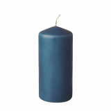 8 x  Stumpenkerze Ø 69 mm · 150 mm dunkelblau