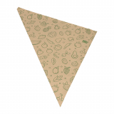 1000 Spitztüten, Kraftpapier 52,5 cm x 37 cm x 37 cm braun Fruits & Vegs Füllinhalt 1500 g