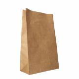 2 x  250 Blockbodenbeutel, Kraftpapier 36 cm x 22 cm x 11 cm braun