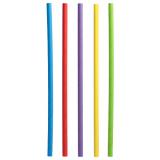 6 x  500 Shake-Halme, Papier Ø 8 mm · 25 cm farbig sortiert
