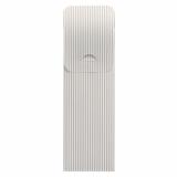 500 Bestecktaschen 23,5 cm x 7,3 cm weiss Lines inkl. weißer Serviette 40 x 40 cm 2-lag.