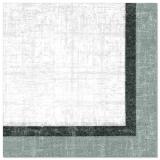 5 x  50 Servietten ROYAL Collection 1/4-Falz 40 cm x 40 cm Chalk