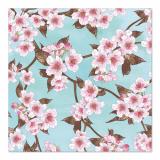 10 x  20 Servietten, 3-lagig 1/4-Falz 33 cm x 33 cm Cherry Blossoms