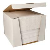 100 Servietten ROYAL Collection 1/4-Falz 40 cm x 40 cm weiss