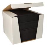 100 Servietten ROYAL Collection 1/4-Falz 40 cm x 40 cm tiefschwarz