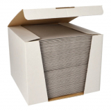 100 Servietten ROYAL Collection 1/4-Falz 40 cm x 40 cm grau