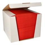 100 Servietten ROYAL Collection 1/4-Falz 40 cm x 40 cm rot