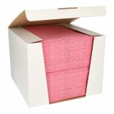 100 Servietten ROYAL Collection 1/4-Falz 40 cm x 40 cm rosa