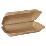 2 x  125 Allzweckboxen mit Klappdeckel, XPP 7 cm x 15,5 cm x 24 cm beige