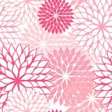 10 x  20 Servietten, 3-lagig 1/4-Falz 40 cm x 40 cm rose Floralies