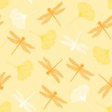 10 x  20 Servietten, 3-lagig 1/4-Falz 40 cm x 40 cm gelb Ginko