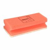 7 x  10 Schwämme eckig 4,5 cm x 15 cm x 7 cm rot/weiss Toilet , nicht kratzend