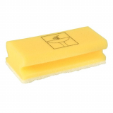 7 x  10 Schwämme eckig 4,5 cm x 15 cm x 7 cm gelb/weiss Bathroom , nicht kratzend