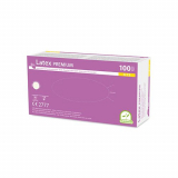 10 x  100 Medi-Inn® Handschuhe, Latex puderfrei Premium weiss Größe XL