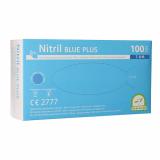 10 x  100 Medi-Inn® Handschuhe, Nitril puderfrei Blue Plus blau Größe M