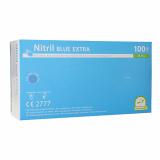 10 x  100 Medi-Inn® Handschuhe Nitril puderfrei blau Blue Extra Größe L