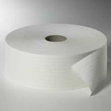 6 Rollen Toilettenpapier, 2-lagiges Tissue Ø 26,5 cm · 420 m x 10 cm weiss Maxi Rollen Großrolle