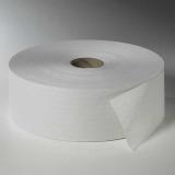 6 Rollen Toilettenpapier, 2-lagiges Tissue Ø 26 cm · 380 m x 10 cm weiss Maxi Rollen , 400 Blatt
