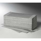 5000 Blatt Handtuchpapier V-Falz 25 cm x 23 cm grau Plus L 1-lagig (20x250)