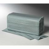 3120 Blatt Handtuchpapier C-Falz 25 cm x 33 cm grün 1-lagig (20x156)
