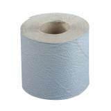 48 Rollen Toilettenpapier, 1-lagiges Krepp Ø 11,5 cm · 12 cm x 10 cm natur Basic 400 Blatt