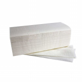 3000 Blatt Handtuchpapier V-Falz 25 cm x 23 cm hochweiss Comfort 2-lagig (20x150)