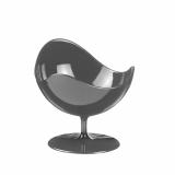 5 x  2 Fingerfood - Becher, PS rund 50 ml Ø 7 cm · 6,8 cm grau Ball Chair