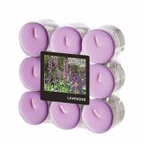 10 x  18 Flavour by GALA Duftlichte Ø 37,5 mm · 16,6 mm violett - Lavender